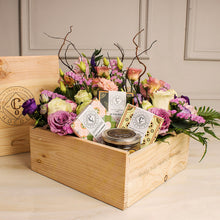 The Diva: Boxful of Holland roses, other premium flowers and healthy chocolate treat