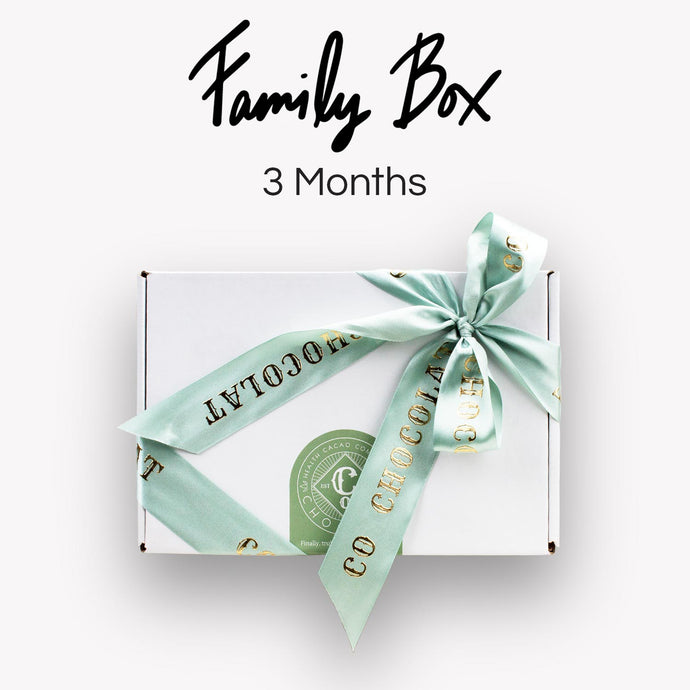 Family Box - 3 months Therapy (5% Discount!) - Co Chocolat