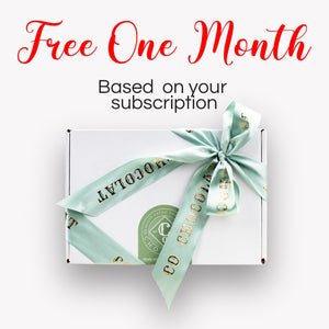 Free 1 Month Subscription - Co Chocolat