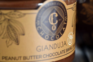 Peanut Butter Chocolate Swirl- Gianduja
