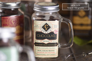 Dark MYLK hot chocolatl - Vegan, GF, Refined sugar-free, Nut-free - 150 grams - Hot Choco NEW! - Co Chocolat