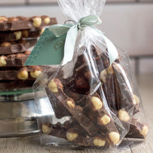 """No Stress Here"" + Roasted Hazelnuts - Fresh Chocolate Slabs - Co Chocolat"