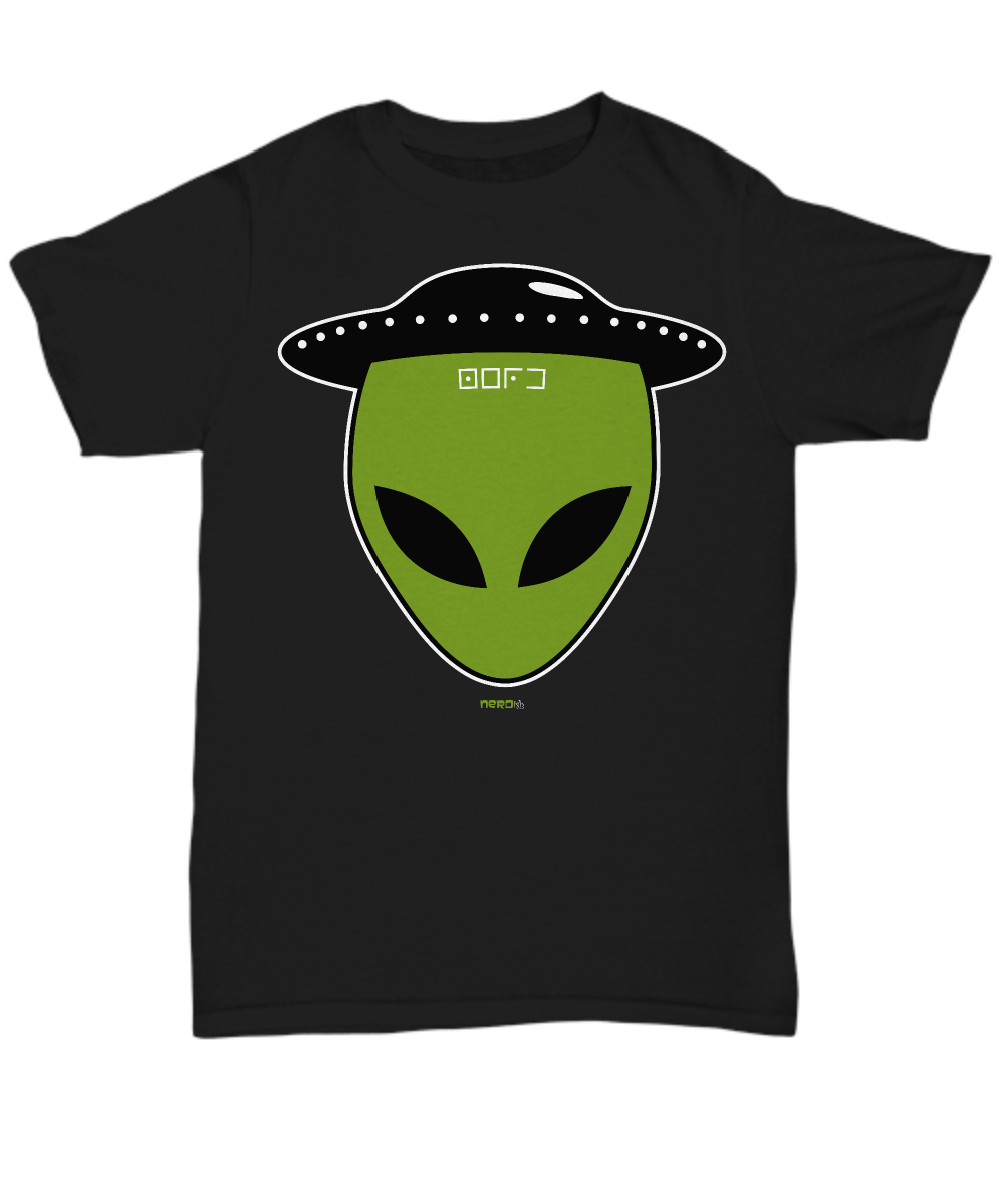 Alien Saucer Hat T-Shirt