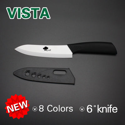 "High Quality Ceramic Kitchen Knife 8 colors Single 3""/ 4""/ 5""/ 6"" cooking chef Kitchen Paring Knife Fruit Vegetable Knives - Kitchendayz"