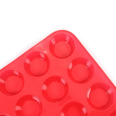 Silicone Muffin Pan - 24 Mini Cupcake Pan - Kitchendayz