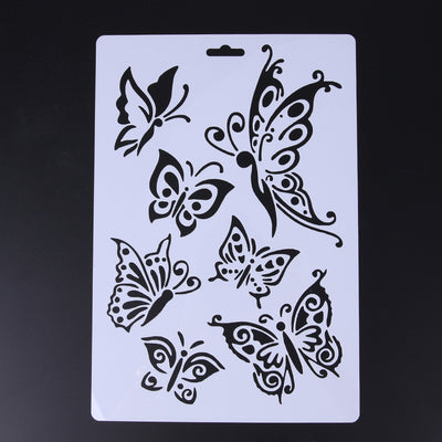 Stencil Bakeware Butterfly Fondant Decorating Cake Stencil Kitchen Cupcake Decoration Template Mold Baking Tools - Kitchendayz