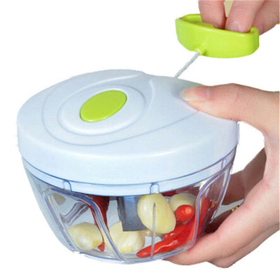 Multifunction High Speed Fruit & Vegie ALL IN ONE! Chopper, shredder, grinder! - Kitchendayz