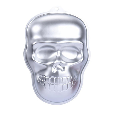 New Qualified Cake Mould Metal Skull Cake Cookie Jelly Halloween Baking Mold Mould Kitchen Craft  Levert Dropship dig6623 - Kitchendayz