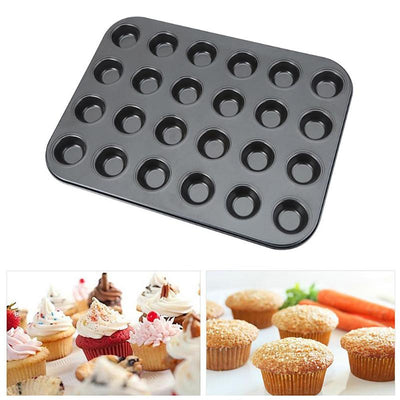 24 Cup Non Stick Mini Muffin Pan