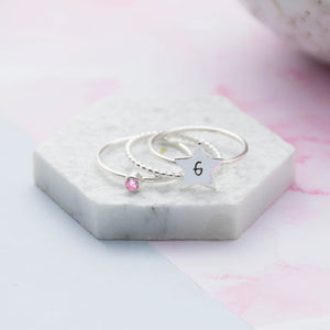 Star Initial Stacking Set