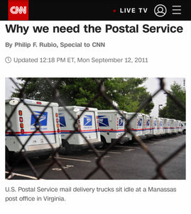 Why we need to save the USPS
