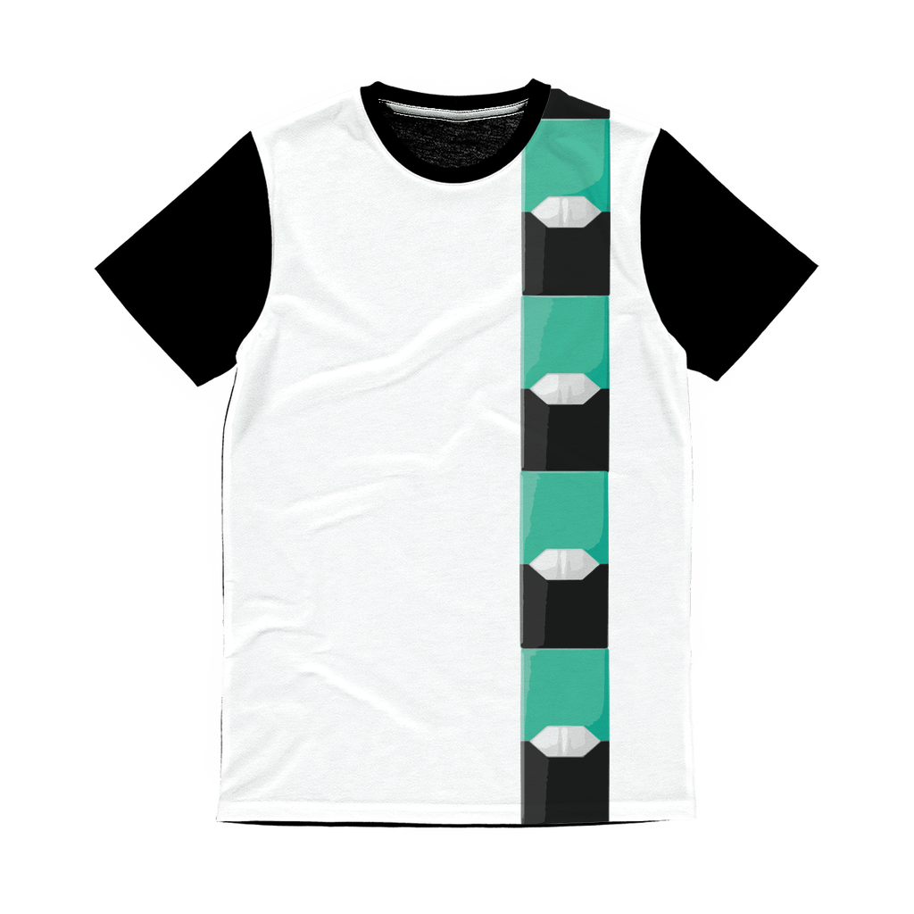 Mint Pod  Classic Sublimation Panel T-Shirt - Creating A Brighter Place