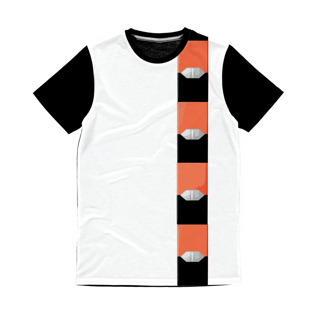 Mango Pod Classic Sublimation Panel T-Shirt - Creating A Brighter Place