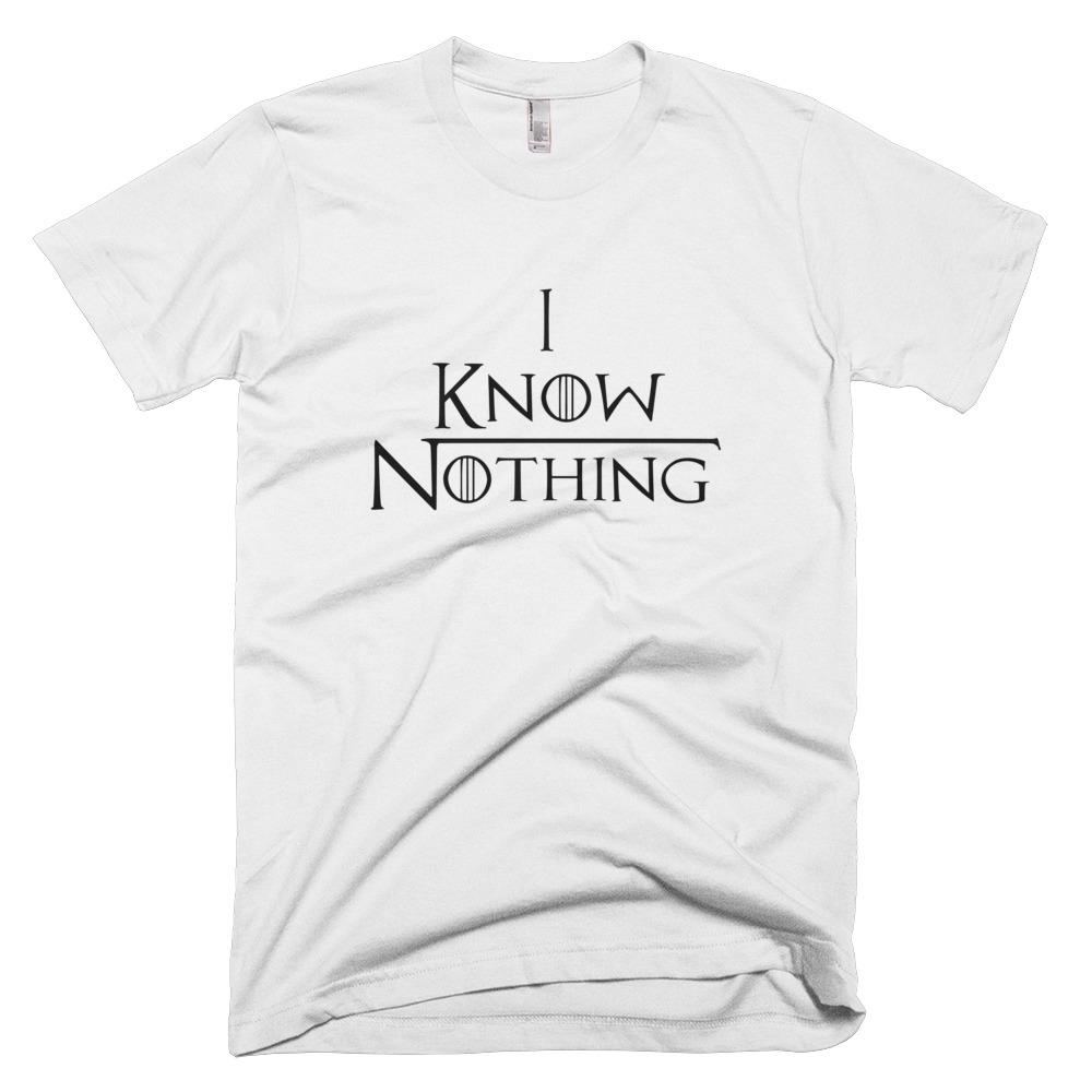 I Know Nothing Hemp T