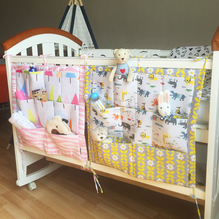 Soft Hanging Crib Organizer