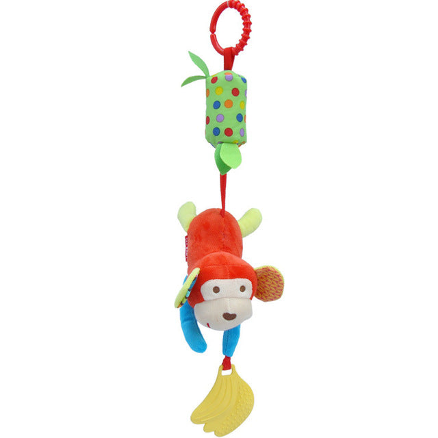 Baby Gift Hot Sale New Infant Toys Mobile Baby Plush Toy Bed Wind Chimes Rattles Bell Toy Stroller for Newborn CG82501