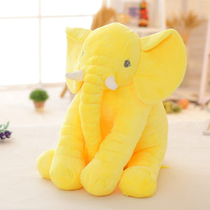 BOOKFONG 40cm New Fashion Animals toys Stuffed Soft Elephant Pillow Baby Sleep Toys Room Bed Decoration Plush Toys for kids