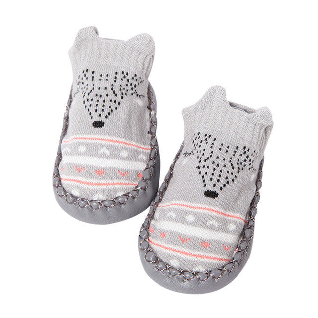 Baby socks- Cotton Cartoon Newborn Baby Girls/ Boys Anti-Slip Socks.
