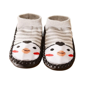 Kids- Toddler -Baby Anti-slip Sock- Slipper.