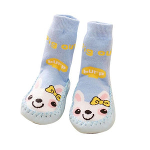 Baby Rabbbit Cartoon Toddler Anti-slip Sock Kids Warm Socks