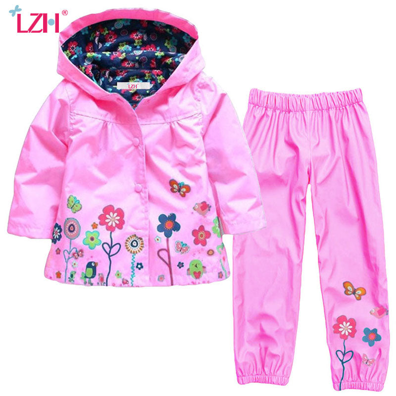Kids Clothing Sets for Autumn/ Winter Jacket+Pants