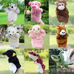 Kids Cute Animal Hand Puppet Baby Funny Bear Monkey Plush Hand Dolls Toy Child Learning Stuffed Toys Finger Puppets For Children