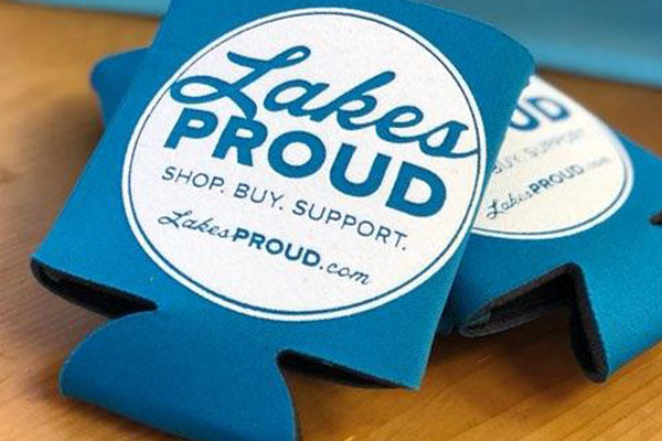 Lakes Proud Can Koozie