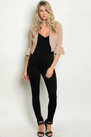 High Waisted Skinny Knit Pants