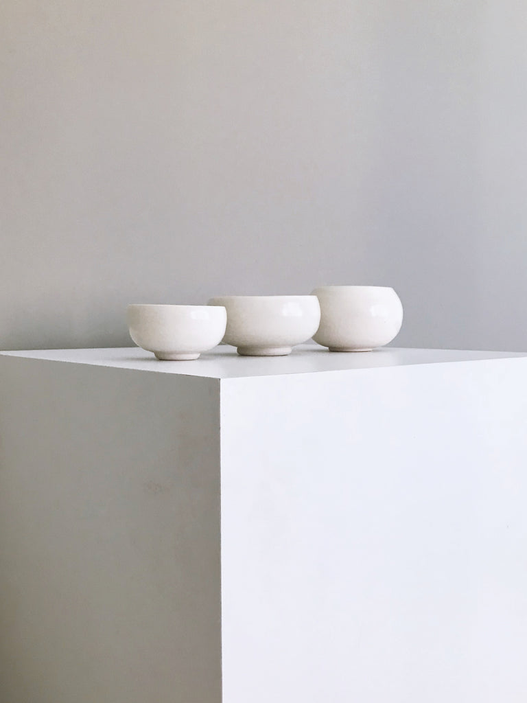 Pillowy Series Porcelain Bowl