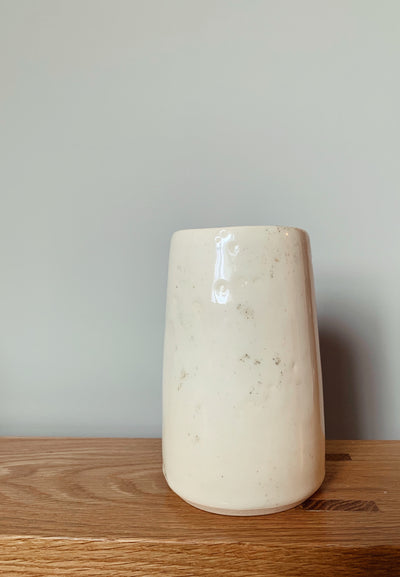Porcelain Vase with Ash