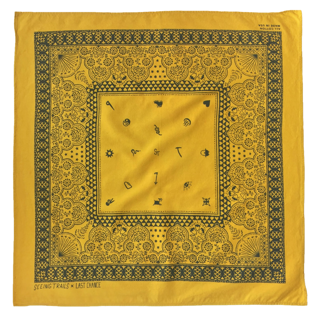 San Gabriel Mountains Bandana