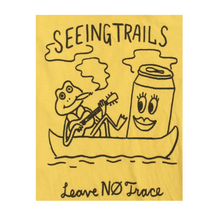 Leave No Trace Tshirt - Yellow