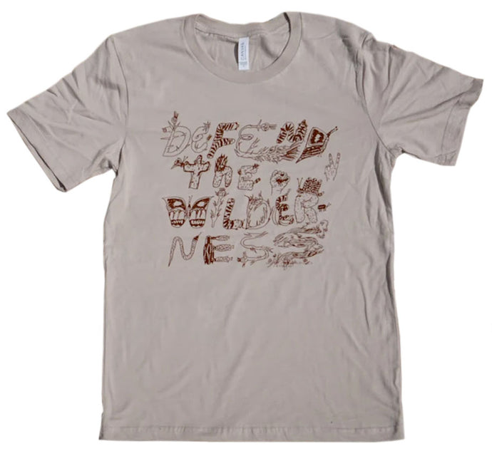 Defend the Wilderness Tshirt by Allison Schulnik