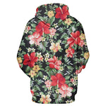 Facts Floral Hoodie