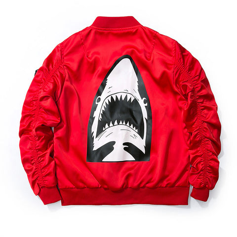 Sharky Bomber Jacket