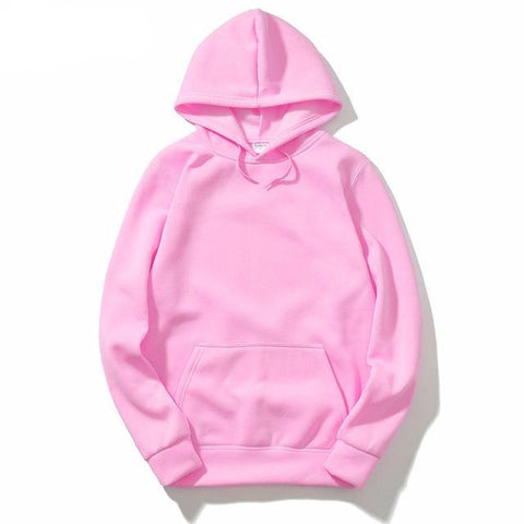 Straight Color Hoodie