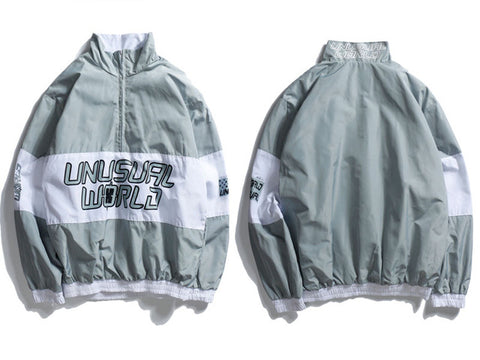 Unusual World Windbreaker Jacket