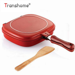 Practical Double Sided Frying Pan