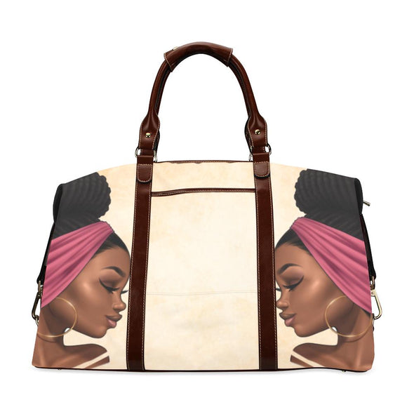 Gold Zana Weekend Luxe Travel Bag - Reflections By Zana