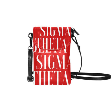 DST Delta Sigma Theta VOGUE  Cell Phone Wallet