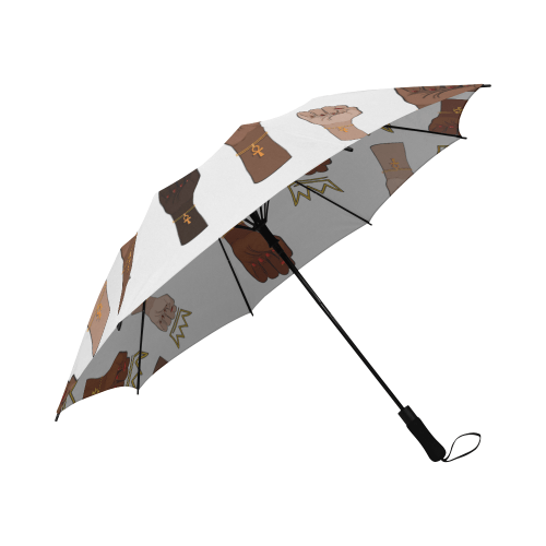 Queens Stand Up Push Button Umbrella - Reflections By Zana