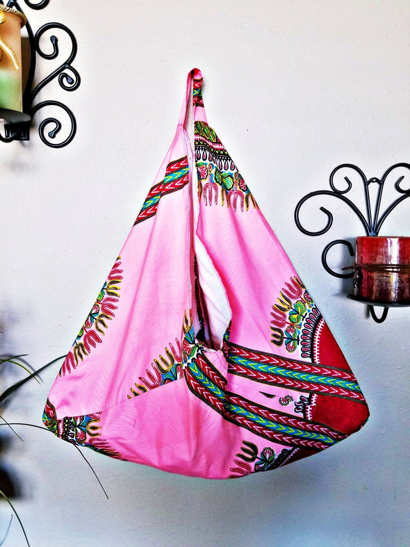 Authentic Dashiki Ghana Market Bag XL in 3 colors