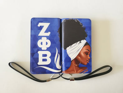 Zeta Phi Beta XL Wallet Clutch *Centennial Design*