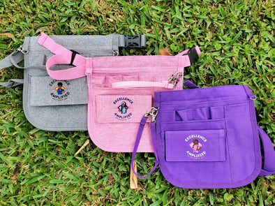 RBZ Custom Waistbag Fannypack in 3 Colors with Matching ID Badge Bundles