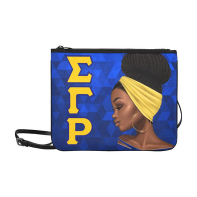 SGR Poodle Slim Clutch Bag (Model 1668) - Reflections By Zana