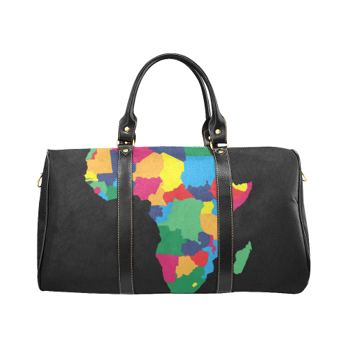 'Vibrant Africa' Travel Duffel Bag - Reflections By Zana