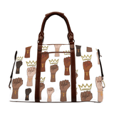 Queens Stand Up! Classic Oversized Travel Bag - Reflections By Zana