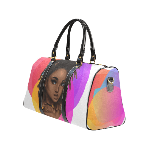 Ooooo Pretty! Locs Travel Duffel Bag - Reflections By Zana