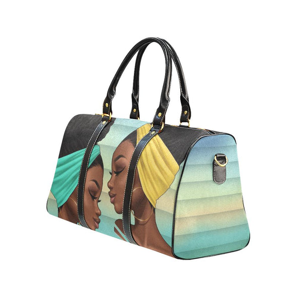 Emerald Queens Waterproof Travel Bag - Reflections By Zana
