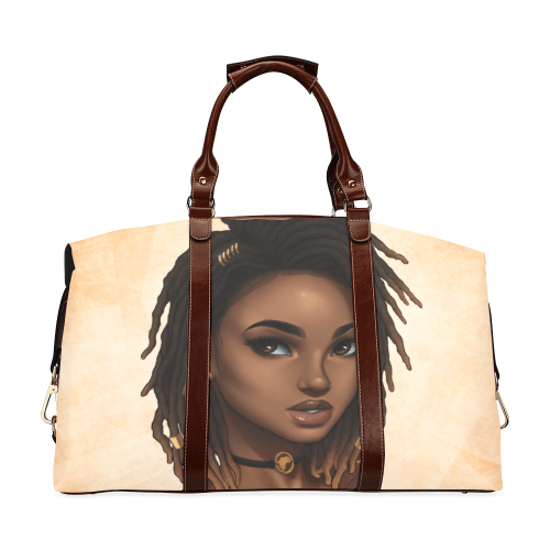 Loc'd Life  Classic Large Overnight/Travel Bag - Reflections By Zana